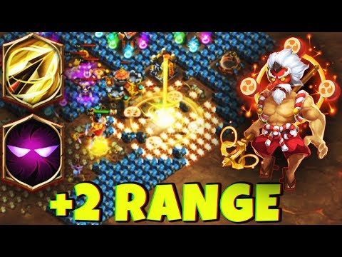 STORM EATER | +2 Range | 8 Zealous Drive | 7 Unholy Pact | AWESOME GAMEPLAY | CASTLE CLASH