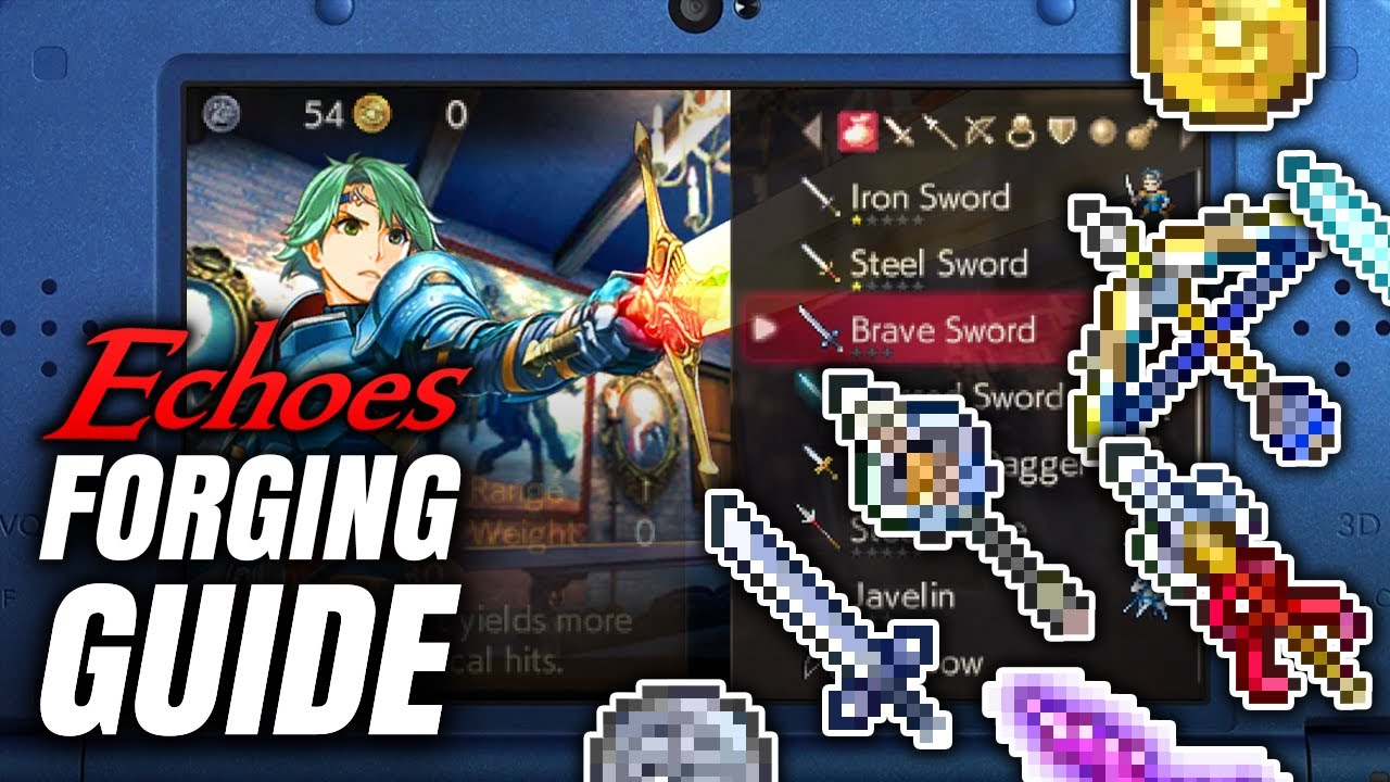 fire emblem echoes forge guide