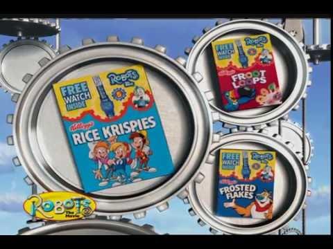 'Class Roam/ROBOTS' Rice Krispies commercial