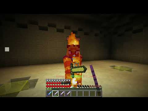 Minecraft - Dark Sword 21 босс