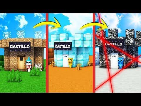 ¡PASAMOS DE CASTILLO NOOB A CASTILLO PRO! 🏰😂 ¡RESCATAMOS A NUESTRA PRINCESA!