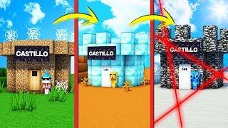 ¡PASAMOS DE CASTILLO NOOB A CASTILLO PRO! 🏰😂 ¡RESCATAMOS A NUESTRA PRINCESA! Video