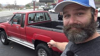 """Craigslist Buyer Beware! The Toyota Pickup Scam?...We were just looking for a """"farm truck"""""""