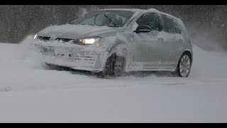 MK7 Volkswagen Golf GTI In the Snow and 1 Year Ownership Report Cars and Comments
