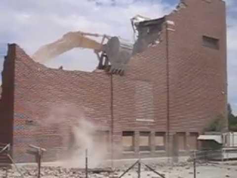 Worland Middle School Demolition - August 2006