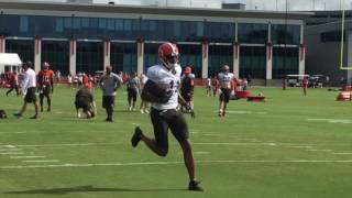 Sights and sounds from Browns practice against Tampa Bay
