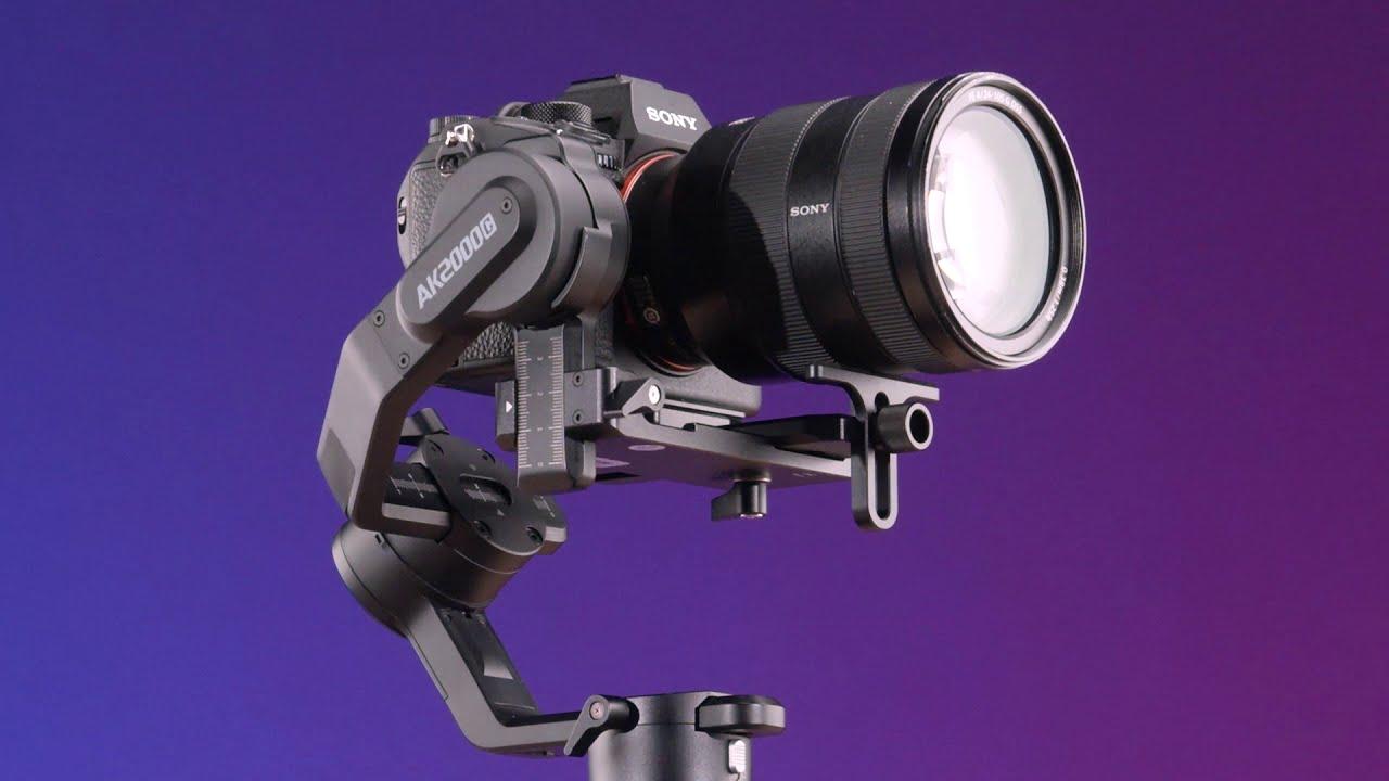 Introduciung Feiyu AK2000C DSLR Camera Gimbal New Launch