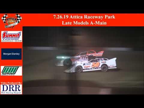 7.26.19 Attica Raceway Park Late Models A-Main