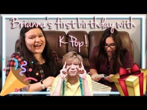 Brianna's K-Pop Birthday Gift Unboxing | Happy birthday, Brianna!