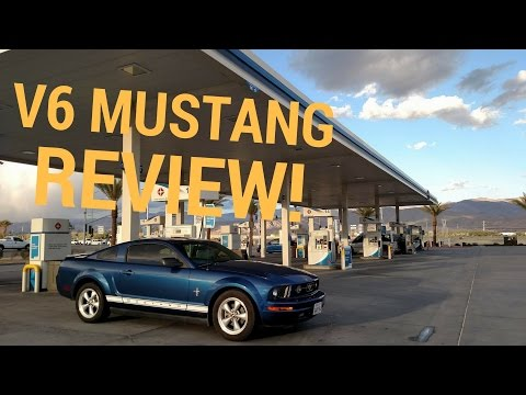 2007 Ford Mustang V6 REVIEW