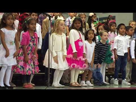 Anvita Konda @ McKenzie School Concert - Song: Mister Frosty Winter