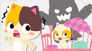 Go Away! Big Monster | Baby Kitten Heroes | Nursery Rhymes | Kids Songs | Baby Cartoon | BabyBus