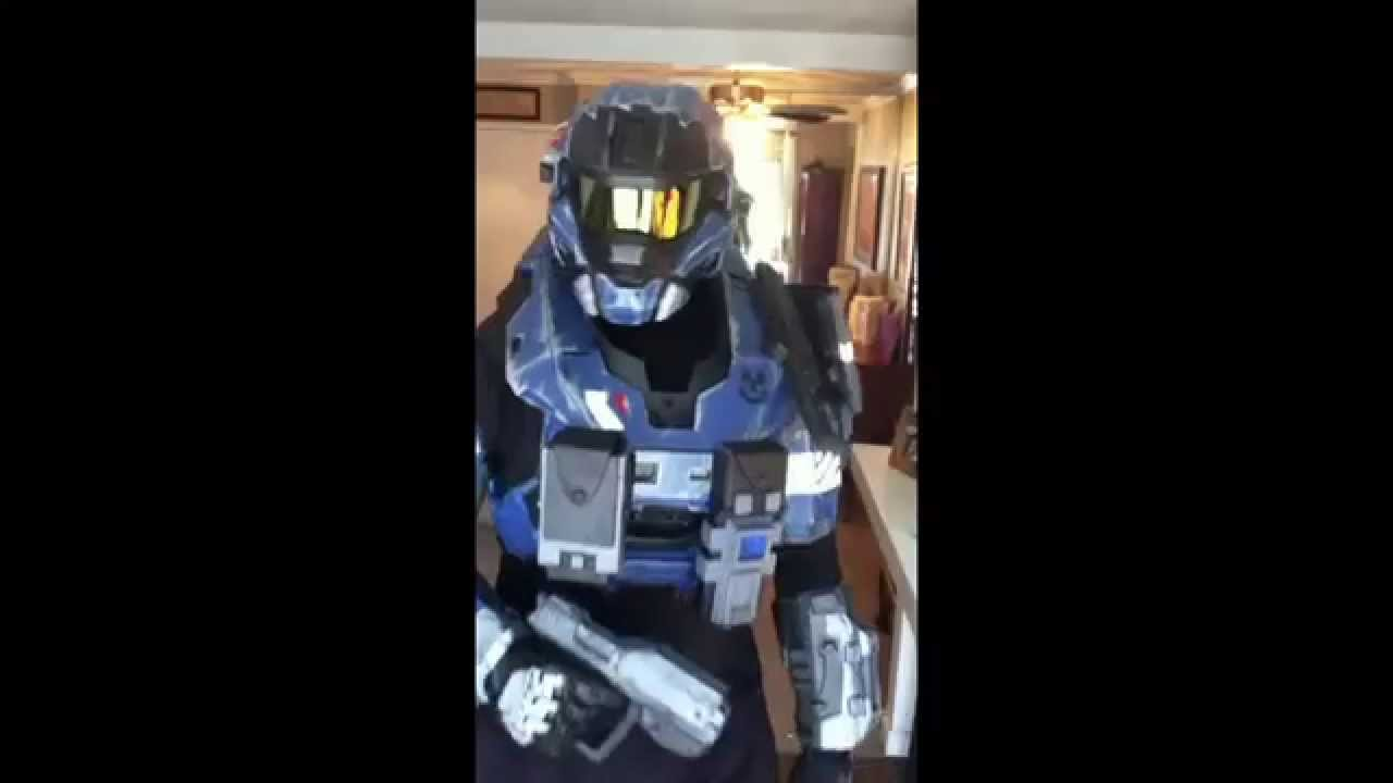 Halo Reach Carter armor - YouTube