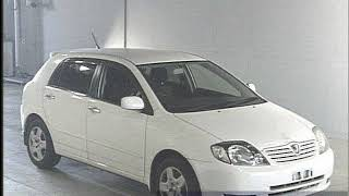 2001 Toyota Allex Rs180 Zze123 - Japanese Used Car For Sale Japan Auction Import