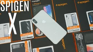 Complete Spigen iPhone X Case Lineup!