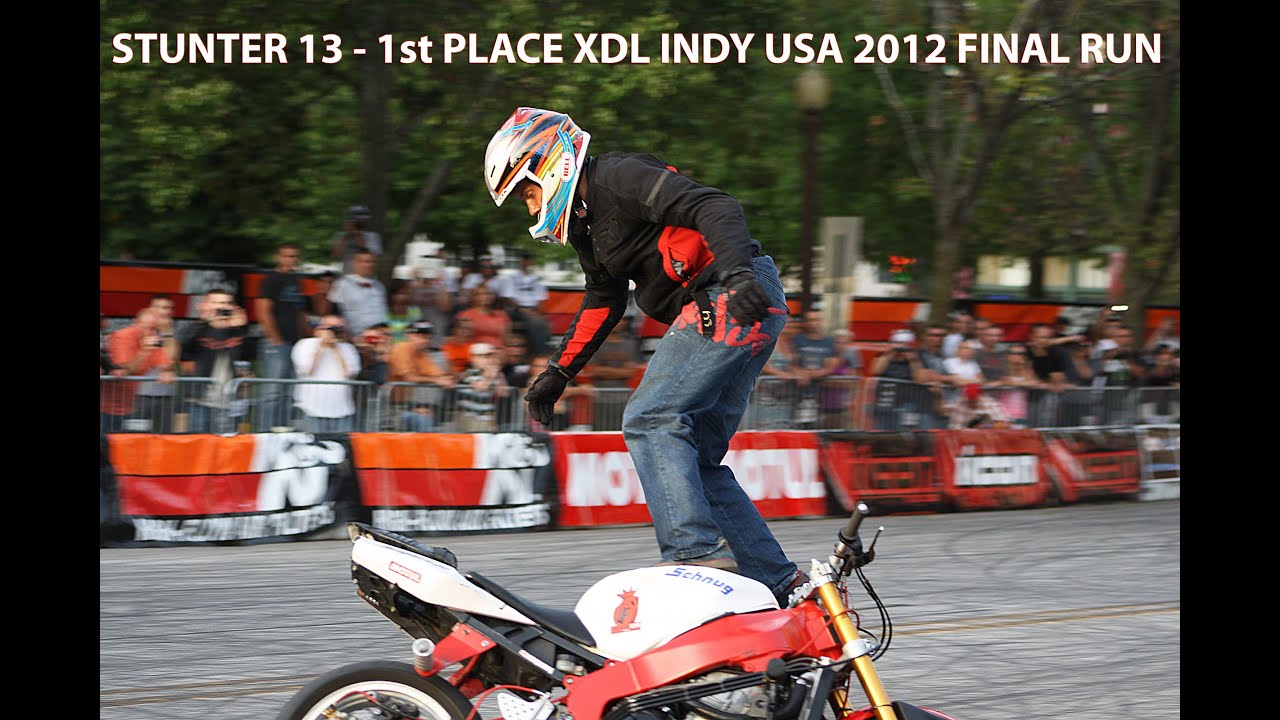 STUNTER 13 - 1st PLACE XDL INDY USA 2012 FINAL RUN