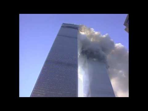 N.J. Burkett reporting as Twin Towers begin to collapse on September 11, 2001