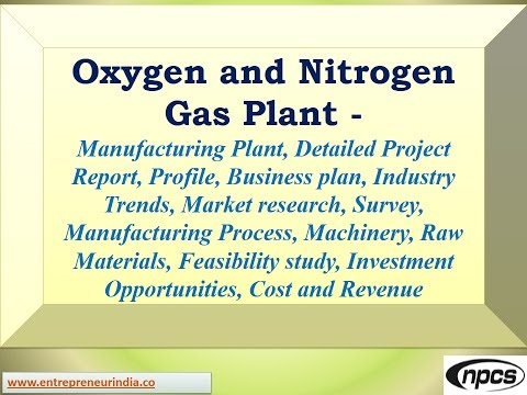 Oxygen and Nitrogen Gas Plant-Manufacturing Plant, Detailed Project Report,Market research