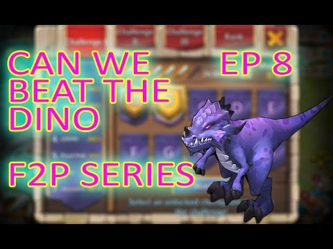 Castle Clash Free To Play Episode 8 Taking On The Dino HBM