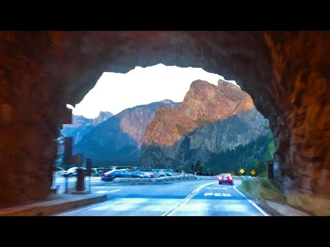 Yosemite • ARRIVING IN THE VALLEY for sunset