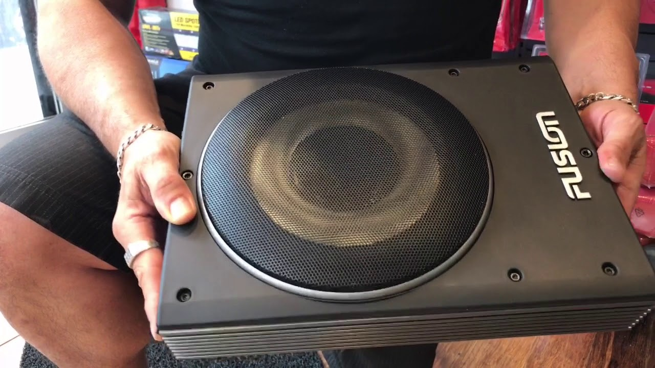 Review Of 8 Inch Fusion Active Subwoofer