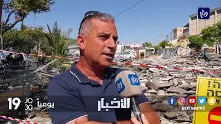 الاحتلال يهدم مغسلة سيارات في القدس - (19-9-2017)