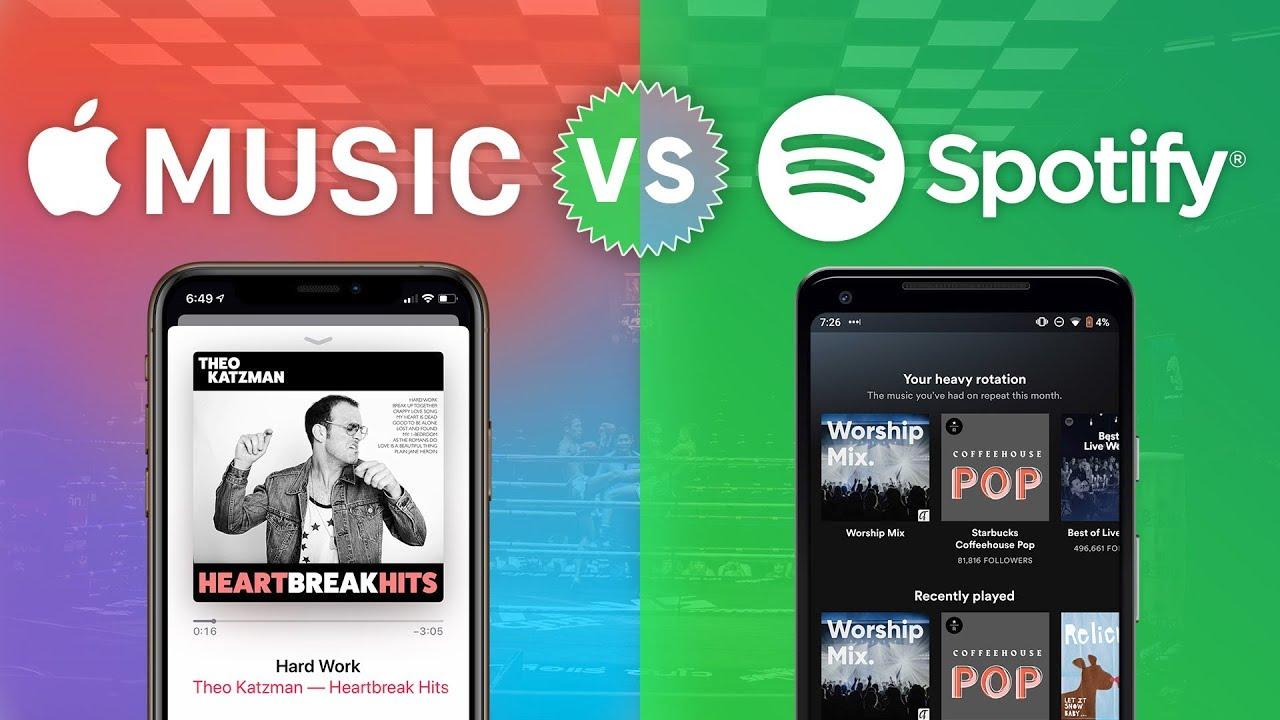 Apple Music vs. Spotify   The Heated Beatdown - YouTube