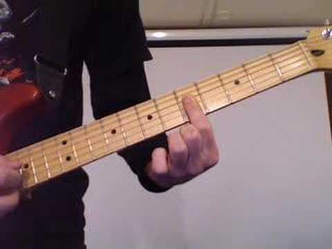 How to play Schism by Tool