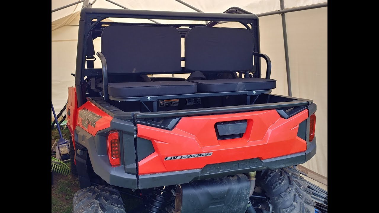 Utv Rumble Seats Back Dump Bed Seats Polaris General