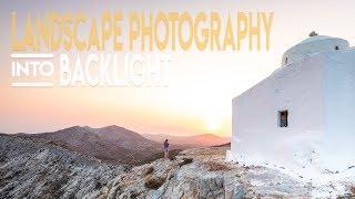 Landscape Photography into Backlight