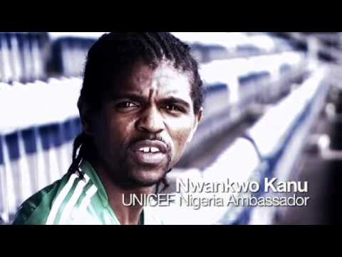 UNICEF: Nwankwo Kanu wants to kick polio out of Nigeria