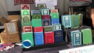Ahmadiyya Muslim Community at Tucson Book Fair 2019