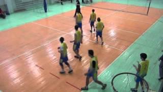 Городские соревнования, волейбол Школа №17, Иркутск 06.02.16 со школой №40 2-я партия