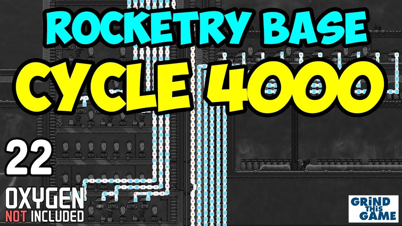 CYCLE 4000 (Oxygen Overload) - ROCKETRY UPGRADE BASE #22