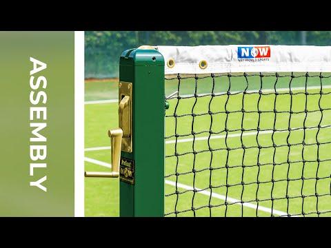 How To: Install Vermont 3mm Tennis Net   Net World Sports