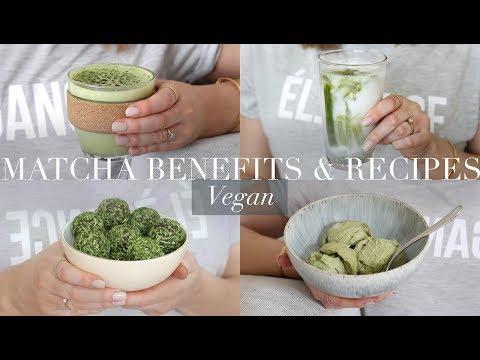 Matcha Benefits & Recipes (Vegan/Plant-based) | JessBeautician AD