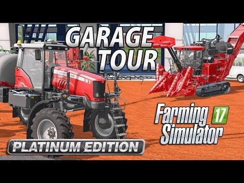 Farming Simulator 2017 Platinum Edition | GARAGE TOUR