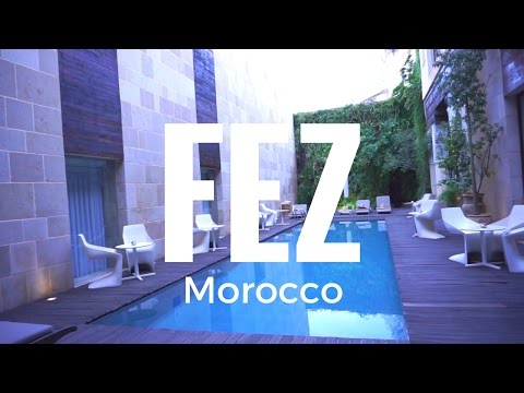 Where To Stay In Fez, Morocco: Riad/Hotel Tour | Travel Vlog (Fez 2)