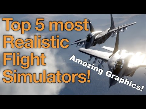 5 Most Realistic Flight Simulator Ever | With Amazing Graphics!