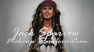 JACK SPARROW MAKEUP TRANSFORMATION (with eng subs)