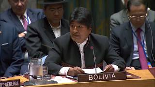 At U N , Bolivia's president lectures Trump on U S  'failings' washingtonpost.com /video/world/at-un-bolivias-pr esident-lectures-trump-on-us-f ailings/2018/09/26/8e939c46-c1 a9-11e8-9451-  ..., From YouTubeVideos