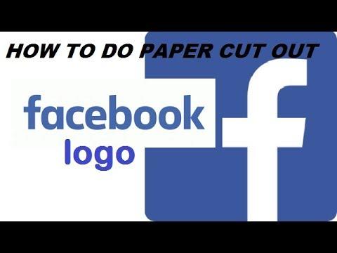 Facebook Logo l Paper Cutout Arts l Logo Designs l New Style .