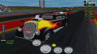 Старые компьютерные игры MS-DOS для 3dfx Voodoo: Burnout Championship Drag Racing 1998 год.