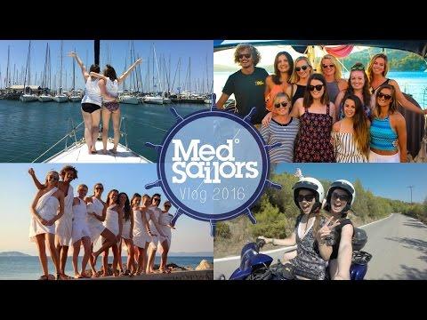 MedSailors: A Trip Of A Lifetime | Greece Sailing Vlog '16 ♡ | brogantatexo