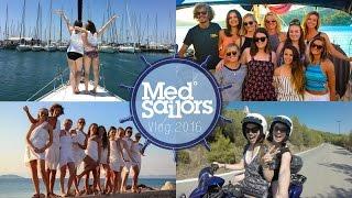 MEDSAILORS: A Trip Of A Lifetime | Greece Sailing Vlog '16 ♡ | Brogan Tate