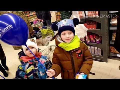 Супермаркет Виталюр в Витебске! Пришли на открытие нового магазина