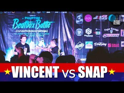 Philippine Beatbox Battle   VINCENT vs SNAP   Top 16