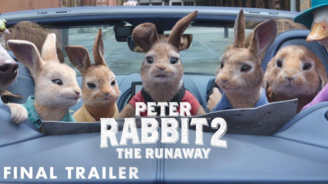 PETER RABBIT 2: THE RUNAWAY - Final Trailer (HD) - YouTube