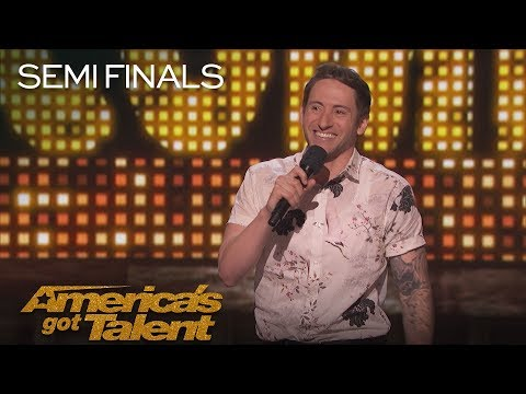 Samuel J. Comroe: Hilarious Comedian Recalls Funny Party Story – America's Got Talent 2018