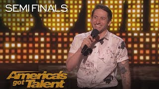 Samuel J. Comroe: Hilarious Comedian Recalls Funny Party Story - America's Got Talent 2018